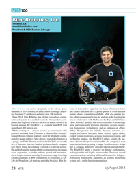 Marine Technology Magazine, page 24,  Jul 2018