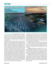Marine Technology Magazine, page 28,  Jul 2018