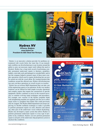 Marine Technology Magazine, page 43,  Jul 2018