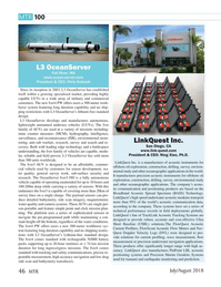 Marine Technology Magazine, page 46,  Jul 2018