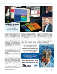 Marine Technology Magazine, page 49,  Jul 2018