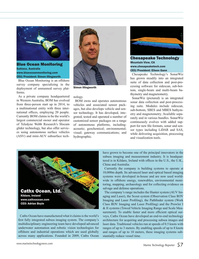 Marine Technology Magazine, page 57,  Jul 2018