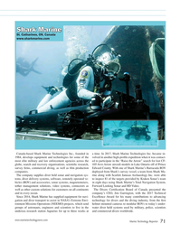Marine Technology Magazine, page 71,  Jul 2018