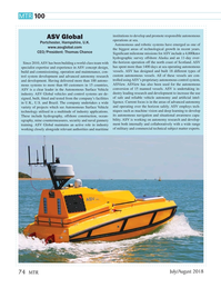 Marine Technology Magazine, page 74,  Jul 2018