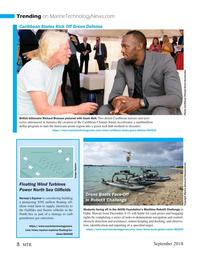 Marine Technology Magazine, page 8,  Sep 2018