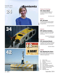 Marine Technology Magazine, page 2,  Sep 2018