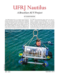 Marine Technology Magazine, page 38,  Sep 2018