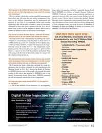 Marine Technology Magazine, page 45,  Sep 2018