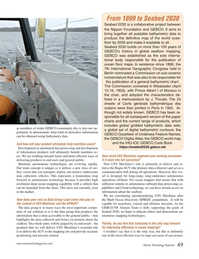 Marine Technology Magazine, page 49,  Sep 2018