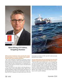Marine Technology Magazine, page 50,  Sep 2018