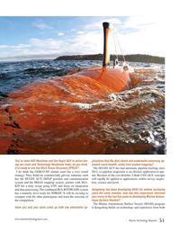 Marine Technology Magazine, page 51,  Sep 2018