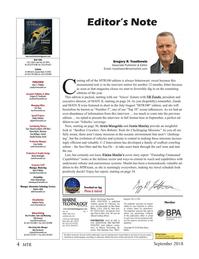 Marine Technology Magazine, page 4,  Sep 2018