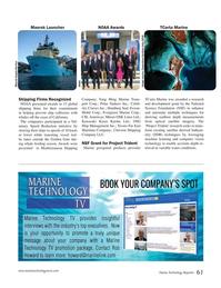Marine Technology Magazine, page 61,  Sep 2018