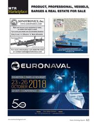 Marine Technology Magazine, page 63,  Sep 2018
