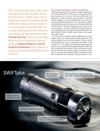 Marine Technology Magazine, page 32,  Oct 2018