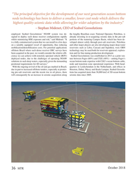 Marine Technology Magazine, page 36,  Oct 2018