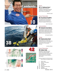 Marine Technology Magazine, page 2,  Oct 2018