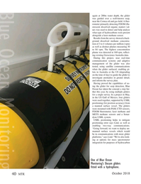 Marine Technology Magazine, page 40,  Oct 2018