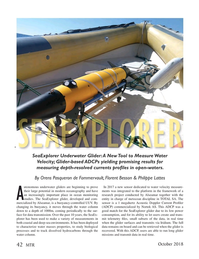 Marine Technology Magazine, page 42,  Oct 2018