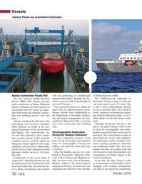Marine Technology Magazine, page 50,  Oct 2018