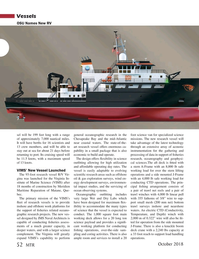 Marine Technology Magazine, page 52,  Oct 2018