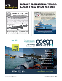 Marine Technology Magazine, page 63,  Oct 2018