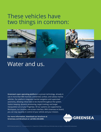 Marine Technology Magazine, page 13,  Nov 2018
