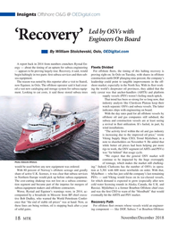 Marine Technology Magazine, page 18,  Nov 2018