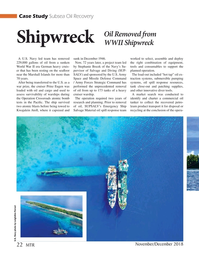 Marine Technology Magazine, page 22,  Nov 2018