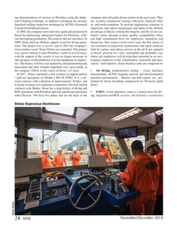 Marine Technology Magazine, page 28,  Nov 2018