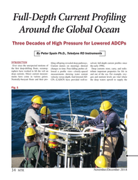 Marine Technology Magazine, page 34,  Nov 2018