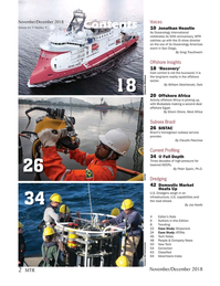Marine Technology Magazine, page 2,  Nov 2018