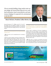 Marine Technology Magazine, page 45,  Nov 2018