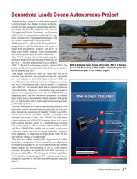 Marine Technology Magazine, page 47,  Nov 2018