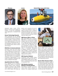 Marine Technology Magazine, page 49,  Nov 2018