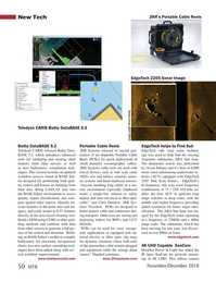 Marine Technology Magazine, page 50,  Nov 2018