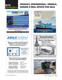 Marine Technology Magazine, page 63,  Nov 2018