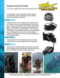 Marine Technology Magazine, page 4th Cover,  Nov 2018