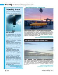 Marine Technology Magazine, page 8,  Jan 2019