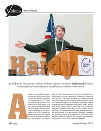Marine Technology Magazine, page 10,  Jan 2019