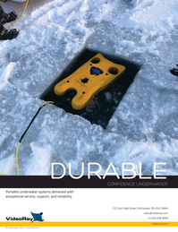 Marine Technology Magazine, page 2nd Cover,  Jan 2019