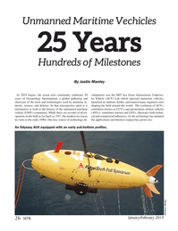 Marine Technology Magazine, page 26,  Jan 2019