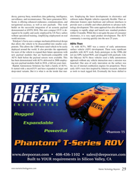 Marine Technology Magazine, page 29,  Jan 2019