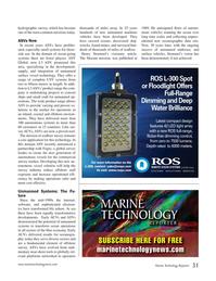 Marine Technology Magazine, page 31,  Jan 2019
