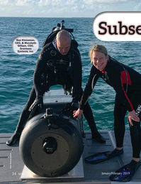 Marine Technology Magazine, page 34,  Jan 2019