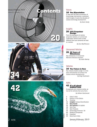 Marine Technology Magazine, page 2,  Jan 2019