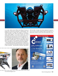 Marine Technology Magazine, page 41,  Jan 2019