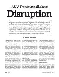 Marine Technology Magazine, page 42,  Jan 2019