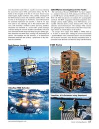 Marine Technology Magazine, page 47,  Jan 2019