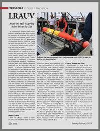 Marine Technology Magazine, page 50,  Jan 2019